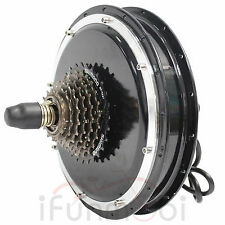 36V/48V 1000W Threaded Brushless Gearless Hub Motor Rear Wheel Motor For E-Bike