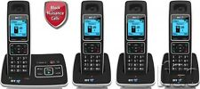 BT 6500 DIGITAL QUAD CORDLESS ANSWER PHONEWITH NUISANCE CALL BLOCKING