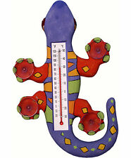 THERMOMETERS - TROPICAL GECKO LARGE WINDOW THERMOMETER - TROPICAL DECOR
