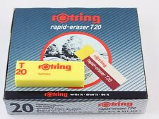 Rotring Rapid Eraser T20 - Drawing Ink Eraser - Bulk Pack 20