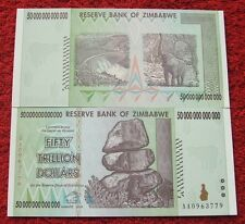 ZIMBABWE 50 TRILLION DOLLARS AA SERIES 2008 YEAR UNC FIFTY TRILLION DOLLARS