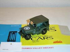 A CENTURY OF CARS #72, WILLYS JEEP, 1:43 SCALE