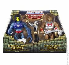 HE MAN & SKELETOR MOTU Masters of the Universe Classics für Auspacker mit Mailer
