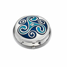 CELTIC PILLBOX SILVER PLATED (8977)