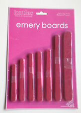 42 NAIL FILES UK EMERY BOARD NAIL FILE MANICURE PEDICURE NAIL FILER CUTTER