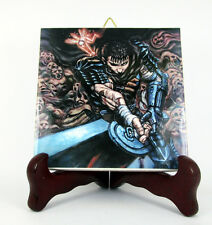 Berserk inspired by collectible ceramic tile - GUTS - handmade in Italy mod. 1