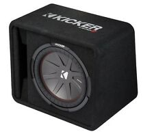 "Kicker VCWR122 CompR 12"" Passive Vented Car Audio Subwoofer Bass Box - 500w RMS"