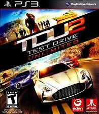 Test Drive Unlimited 2 for PlayStation 3 PS3 TDU2 Excellent Shape! QUICK SHIP!!
