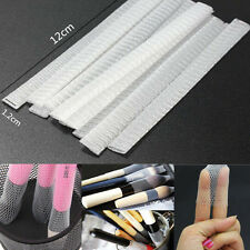 20pc Sheath Net Cosmetic Makeup Brushes Guards Mesh Protectors Cover Acc Women