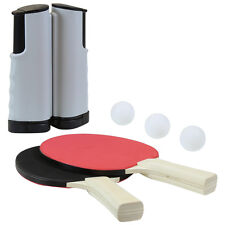 Charles Bentley INSTANT PING PONG SET 2 mazze 2 palline 1 NET 2 PLAYER SET