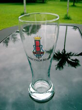 BB KING'S BLUES CLUB WEST PALM BEACH 8 1/2 INCH TALL  BEER  GLASS