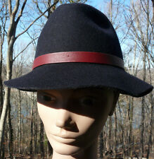 GENIE by Eugenia Kim ~ Black 100% Wool Ladies Hat ~ One Size