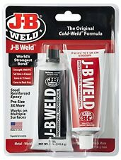 Steel Reinforced Epoxy Glue Steel Twin Pack 10 oz J B Weld Original Cold Formula