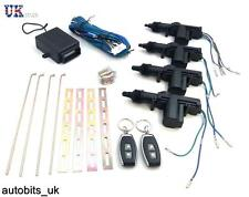 UNIVERSAL REMOTE KEYLESS CENTRAL DOOR LOCKING KIT KEYLESS ENTRY 2/4 DOORS 2 FOBS