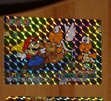 SUPER MARIO WORLD BANPRESTO CARDDASS CARD PRISM CARTE 21 NITENDO JAPAN 1993 **