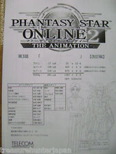PHANTASY STAR ONLINE 2 THE ANIMATION EP 3 STAFF ANIME PRODUCTION STORYBOARD