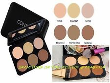 6 Color Contour Pressed Cheek Powder Makeup Blush Palette Set Nude Face Cosmetic