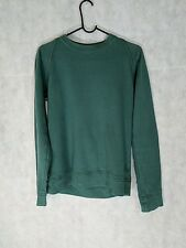 Christophe Lemaire Green Blue Patch Crewneck Sweater Size 1