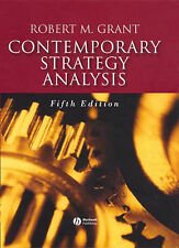 Contemporary Strategy Analysis, Robert M. Grant