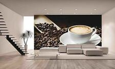 Coffee Cup Wall Mural Photo Wallpaper GIANT DECOR Paper Poster Free Paste