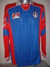 Tibet Hummel Adult XL BNWT Shirt Jersey Football Soccer New L/S Trikot Maglia