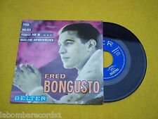 "FRED BONGUSTO Frida Malaga EP Spain press 7"" single 45 Ç 1964"