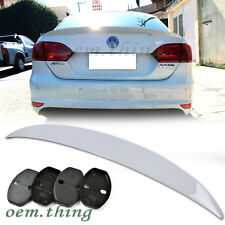 NEW! Painted VOLKSWAGEN JETTA MK6 Sedan Performance Boot Trunk Spoiler 2014 ○