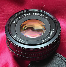NIKON 50MM F1.8 Ais Black Ring PANCAKE LENS use with DSLR inc FX