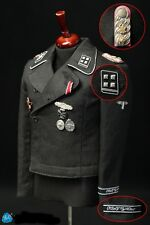 DID 1/6 Scale Standartenführer German Officer Action Figure Black Uniform Set