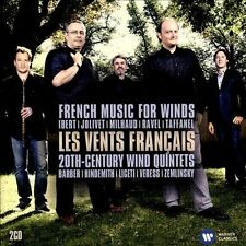 French Music for Winds - 20th-Century Wind Quintets (CD, Jan-2014, 2 Discs,...
