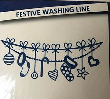 Tattered Lace Dies Stephanie Weightman Festive Washing Line Die D1396 New/Sealed