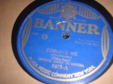 78RPM Banner 1979 Imperial Dance, v- Fr Allen, Forgive Me / All I Want Is You V-