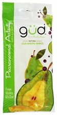 GUD From Burt's Bees - Natural Cleansing Wipes Pearanormal Activity - Berry