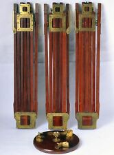 Wood Tripod Folmer & Schwing Crown No2 Excellent Condition Patented June 23 1903