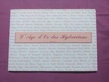 L'ÂGE D'OR DES HYDRAVIONS - TOME I - P. BOUSQUET & J. BELLIS - HYDRO AÉRO MARINE
