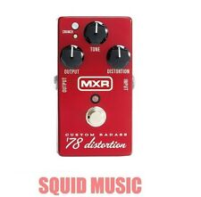 MXR Custom Badass 78 Distortion M-78 Hot Rodded Classic Circuit M78 ( OPEN BOX )