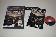 Star Wars Rogue Squadron II Rogue Leader GameCube Video Game Complete