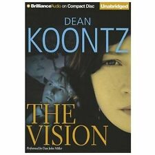 THE VISION unabridged audio book on CD by DEAN KOONTZ