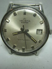 SWISS MENS WATCH HELVETIA PRESTIGE AUTOMATIC CAL.861   FOR PARTS OR REPAIR