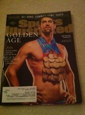 2016 Sports Illustrated - Michael Phelps - Olympic Team USA Swimming Gold Champs