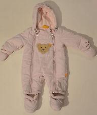 Toller Baby Schneeanzug von Steiff in Rosa Größe 62