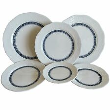 Hankook Chinaware Super Strong Bone China 6pc Plate Set, Dinner Plates, KS Std.