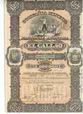 Minera Nacional El Callao  1887 Bolivien