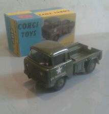 Corgi no. 409  JEEP FC150 code 3 US ARMY  + free repro box