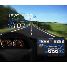 """Speed Warning Dashboard Screen Projector 5.5"""" Car HUD Head Up Display OBD II 2"""