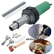 Hot Air Torch Plastic Welding Gun Welder Pistol 1500W+ Speed Nozzle +roller