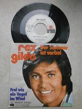 Single - Rex Gildo - Der Sommer ist vorbei / Frei wie ein Vogel im Wind
