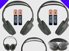 2 Wireless DVD Headsets for GMC Vehicles : New Headphones w/ Comfort Band