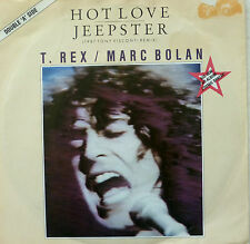"7"" 70s VG++! T. REX : Hot Love + Jeepster 1987 Visconti"