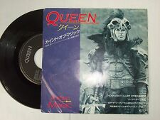 "QUEEN A Kind Of Magic  Mega-Rare 1986 Japan PROMO 7"" with Picture Sleeve etc. !"